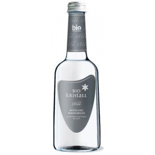 Bio - Kristall Wasser still, 0,33 ltr Flasche