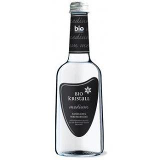 Bio - Kristall Wasser medium, 0,33 ltr Flasche