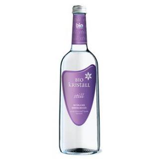 Bio - Kristall Wasser still, 0,75 ltr Flasche