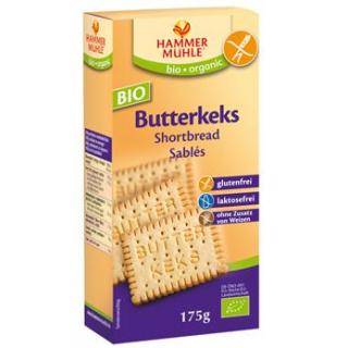 Hammermühle -glutenfrei- Butterkeks, 175 gr Packun