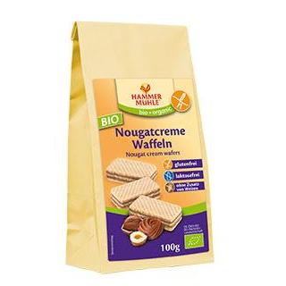 Hammermühle -glutenfrei- Waffeln mit Nougatcremefü