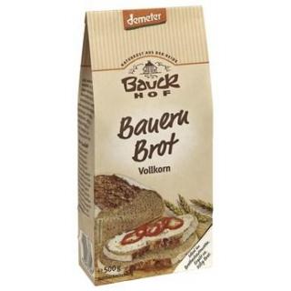 Bauck Hof Bauern-Brot, Vollkorn, 500 gr Packung