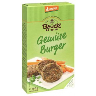 Bauck Hof Gemüse-Burger, 160 gr Packung