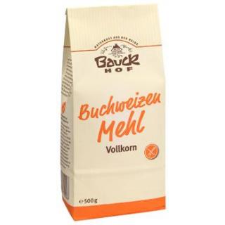 Bauck Hof Buchweizenmehl, 500 gr Packung -glutenfr