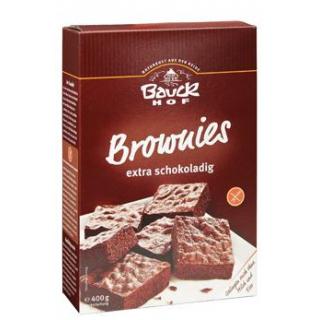 Bauck Hof Brownies, 400 gr Packung -glutenfrei-