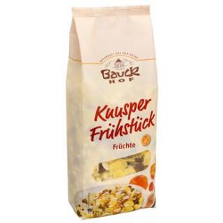 Bauck Hof Knusper Frühstück - Früchte, 325 gr Pack