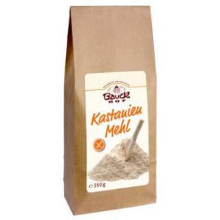 Bauck Hof Kastanienmehl, 350 gr Packung -glutenfre
