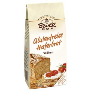 Bauck Hof Haferbrot glutenfrei, 500 gr Packung -Vo