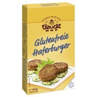 Bauck Hof Haferburger, 140 gr Packung -glutenfrei-