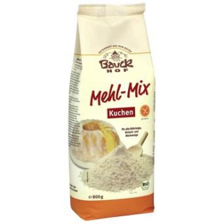 Bauck Hof Mehl-Mix Kuchen, 800 gr Packung -glutenf