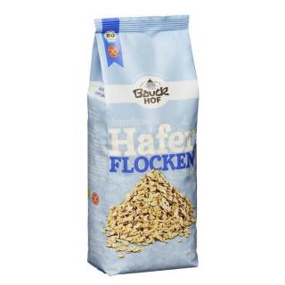 Bauck Hof Haferflocken Großblatt, 475 gr Packung -