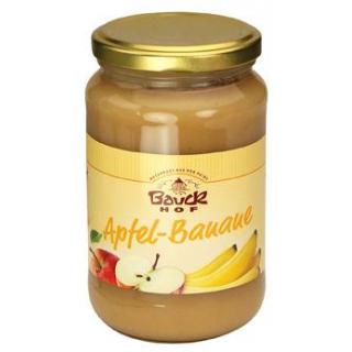 Bauck Hof Apfel-Bananenmark, 360 gr Glas