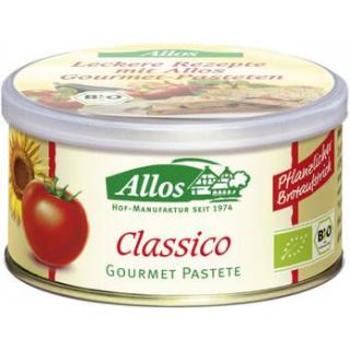 Allos Gourmet Pastete Classico, 125 gr Dose