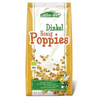 Allos Dinkel-Honig-Poppies, 300 gr Packung