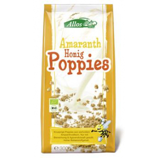 Allos Amaranth-Honig-Poppies, 300 gr Packung
