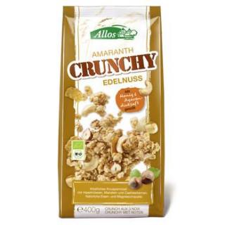 Allos Amaranth Crunchy Edelnuss, 400 gr Packung