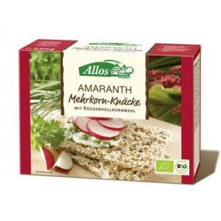 Allos Amaranth-Multigrain- Vollkornknäcke, 250 gr