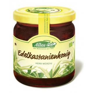 Allos Edelkastanienhonig, Italien, 500 gr Glas
