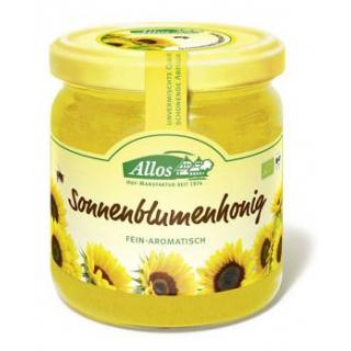 Allos Sonnenblumenhonig, Rumänien, 500 gr Glas