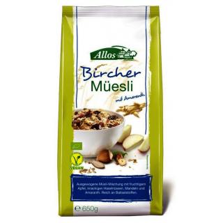 Allos Hof-Müsli Bircher, 650 gr Packung