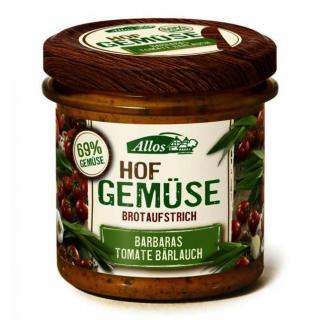 Allos Hofgemüse Barbara`s Tomate Bärlauch, 135 gr