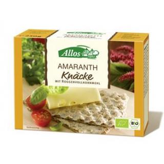 Allos Amaranth Knäcke (Vollkorn), 250 gr Packung