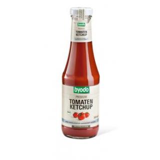byodo Tomaten Ketchup, ohne Kristallzucker, 500 ml