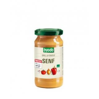 byodo Grill & Fondue Senf, 200 ml Glas