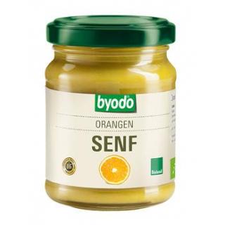 byodo Orangen Senf, 125 ml Glas