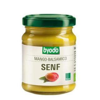 byodo Mango-Balsamico Senf, 125 ml Glas