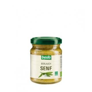 byodo Bärlauch Senf, 125 ml Glas