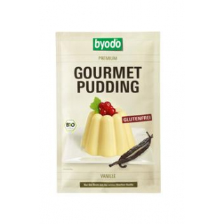byodo Gourmet Pudding Vanille, 36 gr Beutel