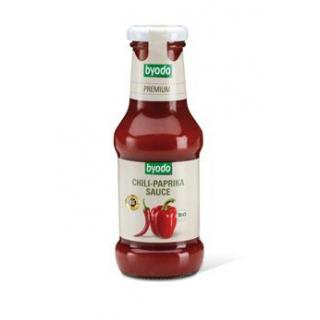 byodo Chili-Paprika Sauce, 250 ml Flasche