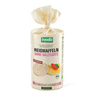 byodo Reiswaffeln ohne Salzzusatz, 100 gr Packung