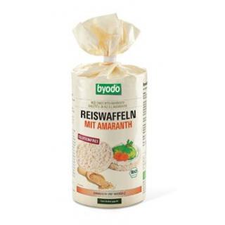 byodo Reiswaffeln mit Amaranth, 100 gr Packung -gl