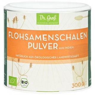 Dr. Groß Flohsamenschalen Pulver, 300 gr Beutel