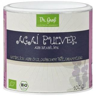 Dr. Groß Acai Pulver, 100 gr Beutel