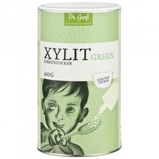 Dr. Groß Xylit green Birkenzucker, 600 gr Packung