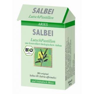 Aries Salbei-Lutsch-Pastillen, 30 gr Packung
