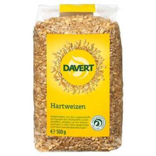 Davert Hartweizen Durum, 500 gr Packung