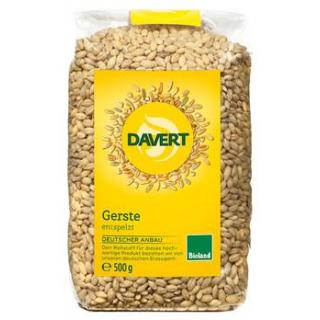 Davert Gerste, entspelzt, 500 gr Packung