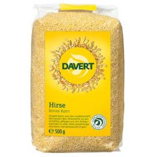 Davert Hirse, besonders feines Korn, 500 gr Packun