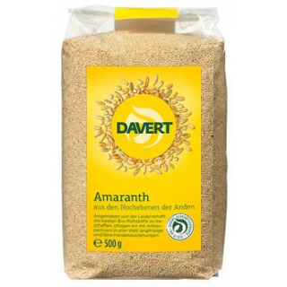 Davert Amaranth-Samen, 500 gr Packung