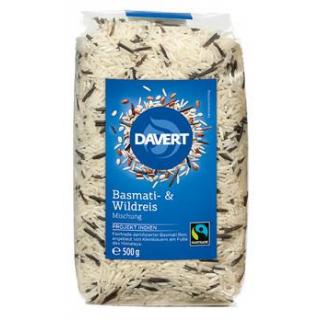Davert Basmati und Wildreis Mischung, 500 gr Packu