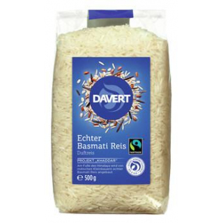 Davert Echter Basmati-Reis, weiß, geschält, 500 gr