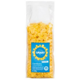 Davert Cornflakes, 250 gr Packung
