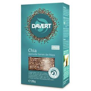 Davert Chia-Samen, 210 gr Packung