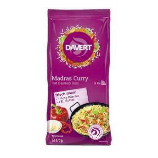Davert Madras Curry mit Basmati Reis, 170 gr Beute
