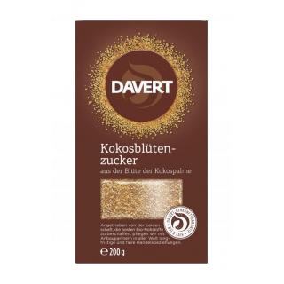 Davert Kokosblütenzucker, 200 gr Packung