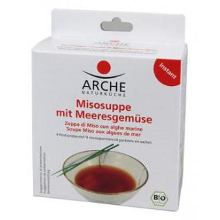 Arche Misosuppe mit Meeresgemüse, 4x 15 gr Schacht